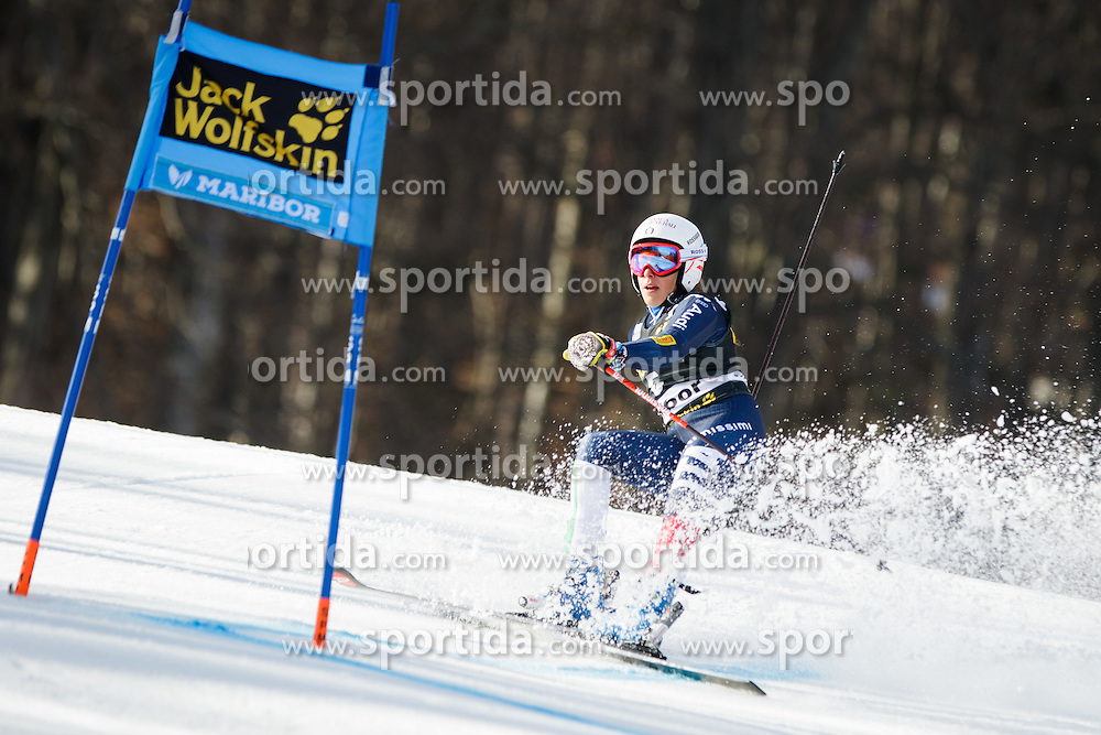 Federica Brignone (ITA) during Ladies' Giant slalom at 52nd Golden Fox - Maribor of Audi FIS Ski World Cup 2015/16, on January 30, 2016 in Pohorje, Maribor, Slovenia. Photo by Ziga Zupan / Sportida