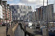 Marina and waterfront redevelopment, Ipswich Wet Dock, Suffolk, England