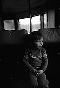 På resa med rälsbuss