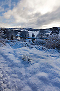 1/12/2010.The snow covered countryside looking over the nore valley at Thomastown County Kilkenny..Picture Dylan Vaughan.