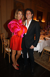 STEPHEN & ASSIA WEBSTER at jeweller Stephen Webster's Christmas party held at Home House, 20 Portman Square, London W1 on 11th December 2006.<br />