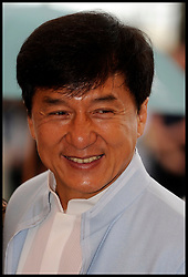 Jackie Chan in Cannes poses for photographers while promoting his new film Chinese Zodiac, Friday 18th May 2012. Photo by Andrew Parsons/i-Images.