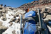 Pico de Orizaba trip taken Sunday March 1 to Sunday March 8, 2009 in Tlachichuca, Mexico.