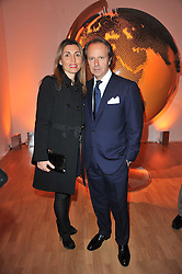 ANDREA & PAULA DELLA VALLE at the TOD'S Art Plus Drama Party at the Whitechapel Gallery, London on 24th March 2011.