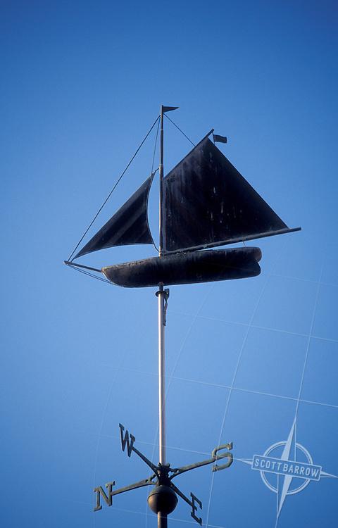 Sailboat/weathervane