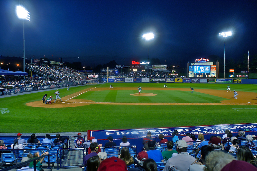 First Energy AA baseball park, Fightin' Phillies, Reading, PA