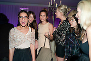 MARGHERITA MISSONI; CAROLINE SIEBER; DASHA ZHUKOVA; SOPHIA HESKETH; NOOR FARES, An evening at Sanderson to celebrate 10 years of Sanderson, in aid of Clic Sargent. Sanderson Hotel. 50 Berners St. London. W1. 27 April 2010 *** Local Caption *** -DO NOT ARCHIVE-© Copyright Photograph by Dafydd Jones. 248 Clapham Rd. London SW9 0PZ. Tel 0207 820 0771. www.dafjones.com.<br /> MARGHERITA MISSONI; CAROLINE SIEBER; DASHA ZHUKOVA; SOPHIA HESKETH; NOOR FARES, An evening at Sanderson to celebrate 10 years of Sanderson, in aid of Clic Sargent. Sanderson Hotel. 50 Berners St. London. W1. 27 April 2010