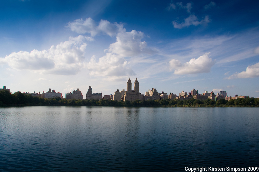 Central Park West over the Lake