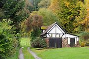 Haus, Ohrnbach, Ohrenbachtal, Odenwald, Naturpark Bergstraße-Odenwald, Hessen, Deutschland   cottage, Ohrnbach, Ohrnbach valley, Odenwald, Hesse, Germany