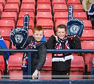 4th September 2017, Hampden Park, Glasgow, Scotland; World Cup Qualification, Group F; Scotland versus Malta; Scotland fans