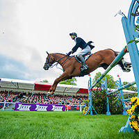 Jumping - Mitsubishi Motors Badminton International Horse Trials 2015
