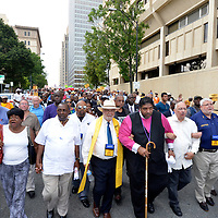 Mass Moral Monday March - Voting rights