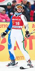 11.03.2010, Kandahar Strecke Damen, Garmisch Partenkirchen, GER, FIS Worldcup Alpin Ski, Garmisch, Lady Giant Slalom, im Bild Gianesini Giulia, ( ITA, #16 ), Ski Head, EXPA Pictures © 2010, PhotoCredit: EXPA/ J. Groder / SPORTIDA PHOTO AGENCY