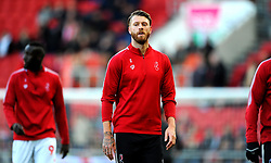 Nathan Baker of Bristol City prior to kick-off-Mandatory by-line: Nizaam Jones/JMP - 18/01/2020 - FOOTBALL - Ashton Gate - Bristol, England - Bristol City v Barnsley - Sky Bet Championship
