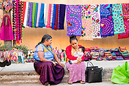 Local aritsans sell their handiwork on the streets of Bucerias, Nayarit, Mexico.