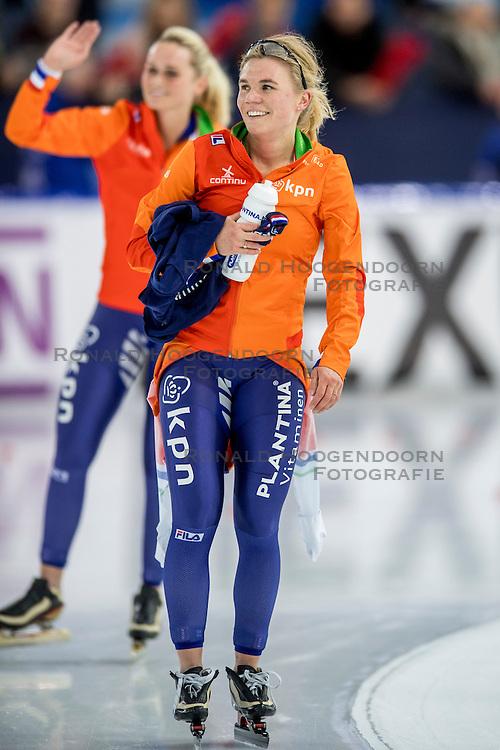 11-12-2016 NED: ISU World Cup Speed Skating, Heerenveen<br /> Linda de Vries op de 5000 m