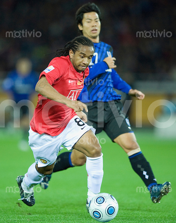 Fussball international 2008/2009 18.12.2008  FIFA Club WM Japan 2008 Halbfinale Gamba Osaka - Manchester United ANDERSON (ManU).