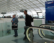 "Jean Reno.Gate F33 Air France Terminal to Cannes.""Charles De Gaulles"" Paris Airport.Paris, France.Saturday, May 18, 2002.Photo By Celebrityvibe.com"