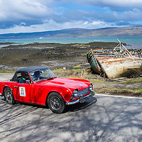 Car 32 John Collins / Maggie Collins Triumph TR4