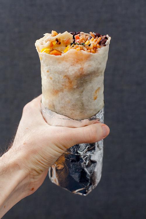 Veggie Burrito from Dos Toros ($9.53)