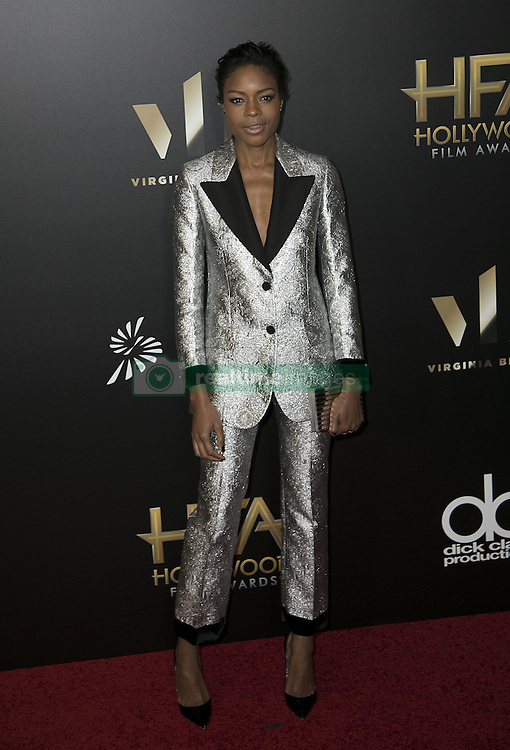 November 6, 2016 - Beverly Hills, California, U.S - Naomie Harris at the 20th Annual Hollywood Film Awards held at the Beverly Hilton Hotel on Sunday November 6, 2016 in Beverly Hills, California. (Credit Image: © Prensa Internacional via ZUMA Wire)