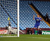 Photo: Mark Stephenson.<br /> Aston Villa v Leicester City. Carling Cup. 26/09/2007.leicester's Matt Fryatt rues a missed chance