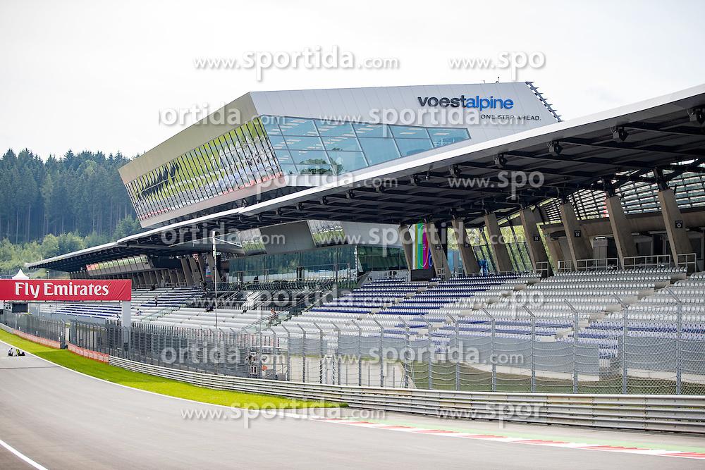 30.06.2016, Red Bull Ring, Spielberg, AUT, FIA, Formel 1, Grosser Preis von Österreich, Vorberichte, im Bild VÖST Alpine Wing // VOEST Alpine Wing during the Preparation for the Austrian Formula One Grand Prix at the Red Bull Ring in Spielberg, Austria on 2016/06/30. EXPA Pictures © 2016, PhotoCredit: EXPA/ Johann Groder