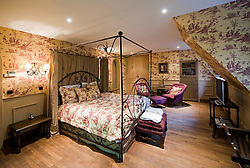 One of the well appointed rooms at the B&B Bonifacius in Bruges, Belgium. (Photo © Jock Fistick)