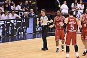 DESCRIZIONE : Milano Lega A 2014-15 <br /> EA7 Olimpia Milano - Acea Virtus Roma <br /> GIOCATORE : Joe Ragland <br /> CATEGORIA : arbitro delusione<br /> SQUADRA : EA7 Olimpia Milano<br /> EVENTO : Campionato Lega A 2014-2015 <br /> GARA : EA7 Olimpia Milano - Acea Virtus Roma<br /> DATA : 12/04/2015<br /> SPORT : Pallacanestro <br /> AUTORE : Agenzia Ciamillo-Castoria/GiulioCiamillo<br /> Galleria : Lega Basket A 2014-2015  <br /> Fotonotizia : Milano Lega A 2014-15 EA7 Olimpia Milano - Acea Virtus Roma