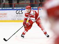 2020-02-12 | Ljungby, Sweden: Troja-Ljungby (5) Carl Ernstig during the game between IF Troja / Ljungby and Huddinge IK at Ljungby Arena ( Photo by: Fredrik Sten | Swe Press Photo )<br /> <br /> Keywords: Ljungby, Icehockey, HockeyEttan, Ljungby Arena, IF Troja / Ljungby, Huddinge IK, fsth200212, ATG HockeyEttan, Allettan