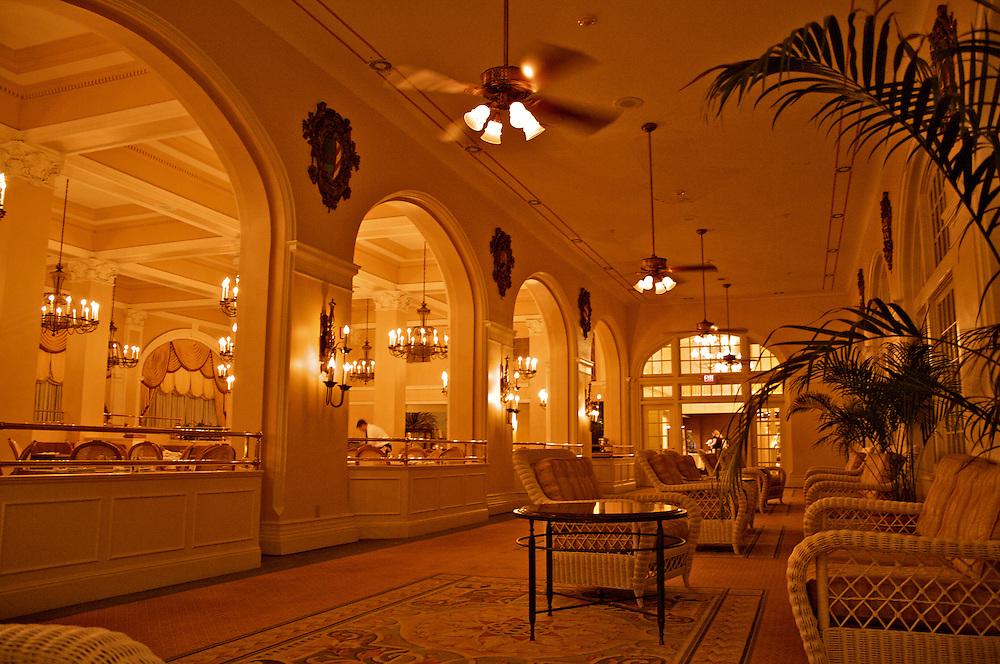 Hotel Galvez Interior, Galveston, TX