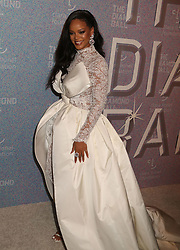 September 13, 2018 - New York City, New York, U.S. - Singer RIHANNA attends Rihanna's 4th Annual Diamond Ball held at Cipriani Wall Street. (Credit Image: © Nancy Kaszerman/ZUMA Wire)