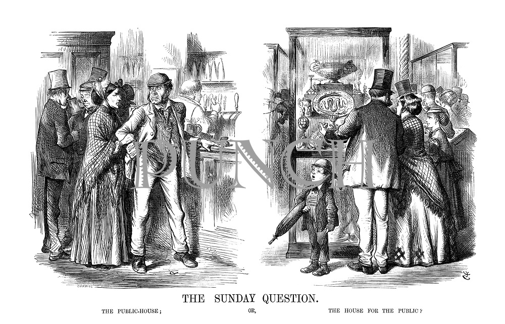 The Sunday Question. The Public-House; or, The House For The Public?