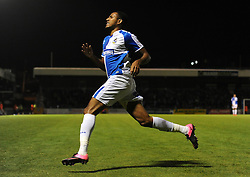 Cristian Montano of Bristol Rovers - Mandatory byline: Dougie Allward/JMP - 07966 386802 - 06/10/2015 - FOOTBALL - Memorial Stadium - Bristol, England - Bristol Rovers v Wycombe Wanderers - JPT Trophy