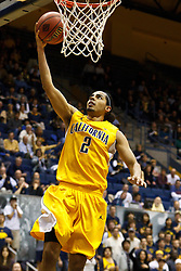 March 16, 2011; Berkeley, CA, USA;  California Golden Bears guard Jorge Gutierrez (2) shoots a layup against the Mississippi Rebels during the second half of the first round of the National Invitation Tournament at Haas Pavilion.  California defeated Mississippi 77-74.