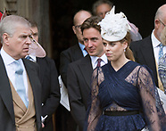 Lady Gabriella Windsor Wedding - Royal Guests