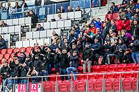 ALKMAAR - 12-09-2017, Jong AZ - Telstar, AFAS Stadion, 2-2, supporters AZ