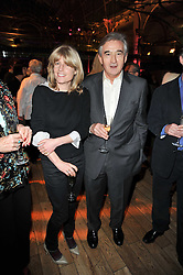RACHEL JOHNSON and ANTONY BEEVOR at the annual Orion Publishing Group's Author party held in the Paul Hamlyn Hall, The Royal Opera House, Covent Garden, London on 15th February 2011.