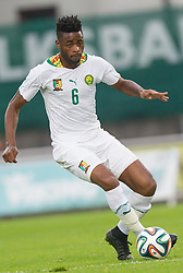 26.05.2014, Kufstein Arena, Kufstein, AUT, FIFA WM, Testspiel, Mazedonien vs Kamerun, im Bild Alexandre Song (Kamerun) // Alexandre Song (Kamerun) during friendly match between Macedonia and Cameroon for Preparation of the FIFA Worldcup Brasil 2014 at the Kufstein Arena in Kufstein, Austria on 2014/05/26. EXPA Pictures © 2014, PhotoCredit: EXPA/ JFK