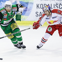 20130115: SLO, Ice Hockey - EBEL League, HDD Telemach Olimpija vs EC Red Bull Salzburg