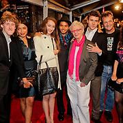 NLD/Amsterdam/20111011 - Premiere Razend, cast, met oa Carry Slee, Dave Schram en Mingus Dagelet