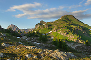 Yellow Aster Butte. Mount Baker Wilderness, North Cascades Washington