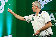 Steve Beaton during the PDC Darts Players Championship at  at Butlins Minehead, Minehead, United Kingdom on 26 November 2017. Photo by Shane Healey.