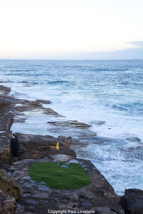 The world's largest free-to-the-public outdoor sculpture exhibition, Sculpture by the Sea, Bondi. .Chava Kuchar, The Hazard.