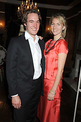 ALEX MARX and MICKEY SUMNER daughter of singer Sting at a party hosted by the Supper Club in honour of Mary Greenwell held at Beach Blanket Babylon, Ledbury Road, London on 25th June 2008.<br />