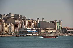 Houses in Santander Spain looking out over the Bay of Santander<br /> <br /> (c) Andrew Wilson | Edinburgh Elite media