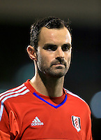 Fulham goalkeeper Joe Lewis