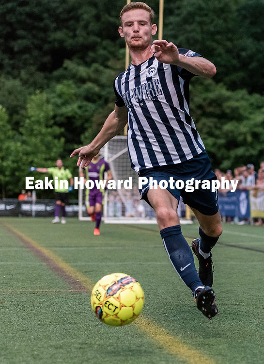 The Men's Asheville City Soccer Club lost New Orleans Jesters to 3-1  in Memorial Stadium in Asheville, NC on June 29, 2018.