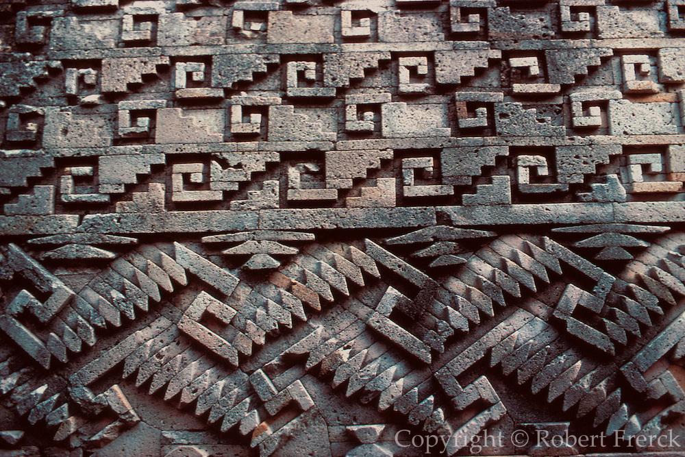 MEXICO, ZAPOTEC AND MIXTEC MITLA, 'Hall of the Columns' mosaics