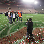 COLLEGE FOOTBALL:  The 102nd Rose Bowl game between Stanford and Iowa played on January 1, 2016 at the Rose Bowl stadium in Pasadena, California.